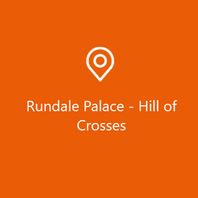 Rundale palace - Hill of Crosses | BIGI SIA